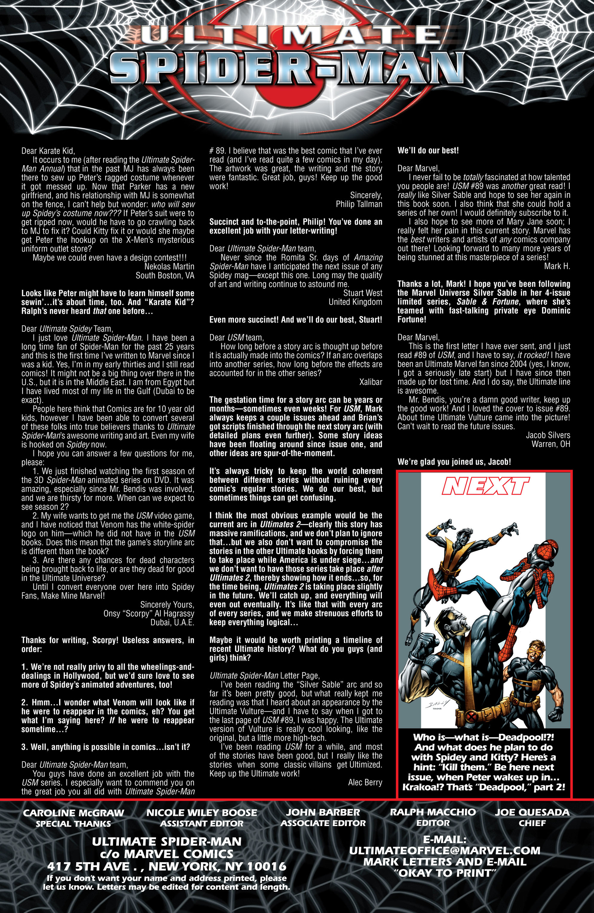 Read online Ultimate Spider-Man (2000) comic -  Issue #91 - 24