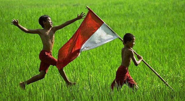 indonesia negar agraris yang kaya raya