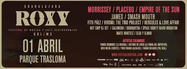 Roxy Festival  1 de Abril