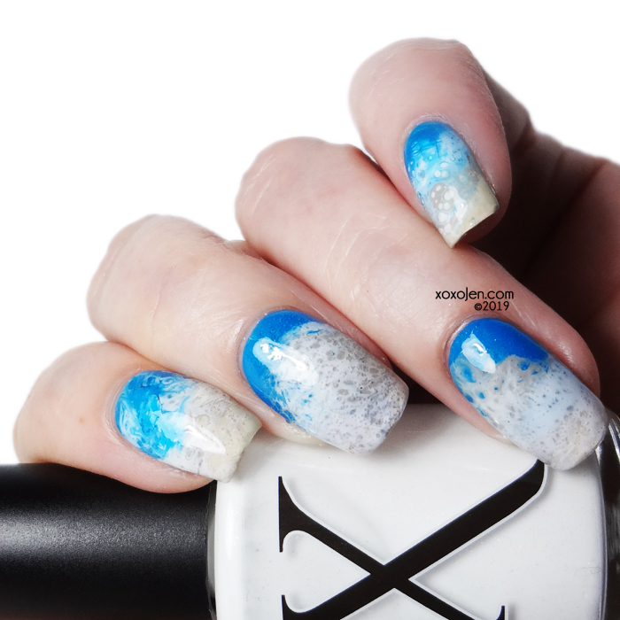 xoxoJen's swatch of BaronessX: Snow Leopard