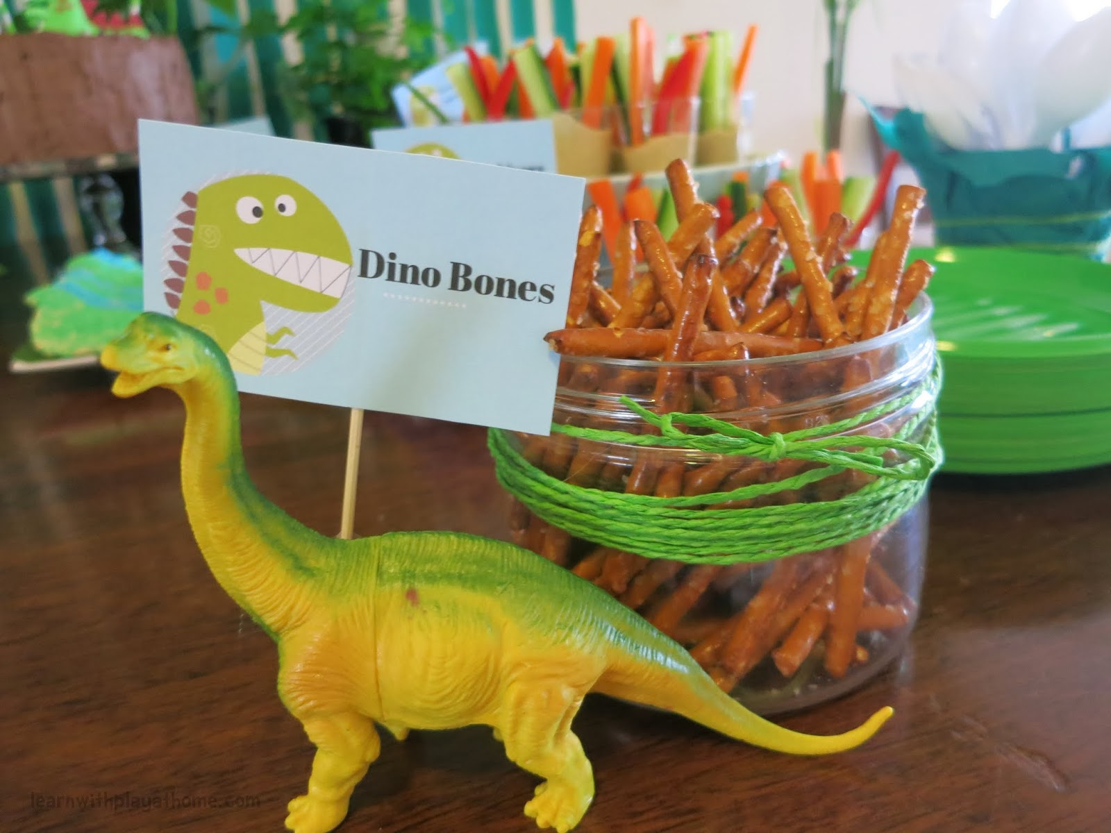 Learn With Play At Home Dinosaur Party