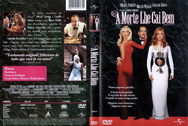 Capa DVD A Morte Lhe Cai Bem