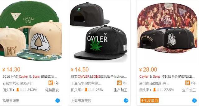 Nón lưỡi trai Quảng Châu - bán hàng Online trên Facebook