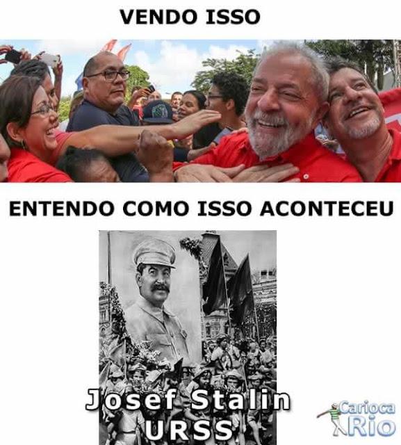 lula Josef Stalin