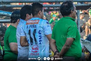 Oriente Petrolero - Alcides Peña volvió a jugar con la albiverde después de 449 días - DaleOoo