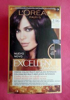 L´Oreal Excellence Intense 2.16 Negro Violín Oscuro