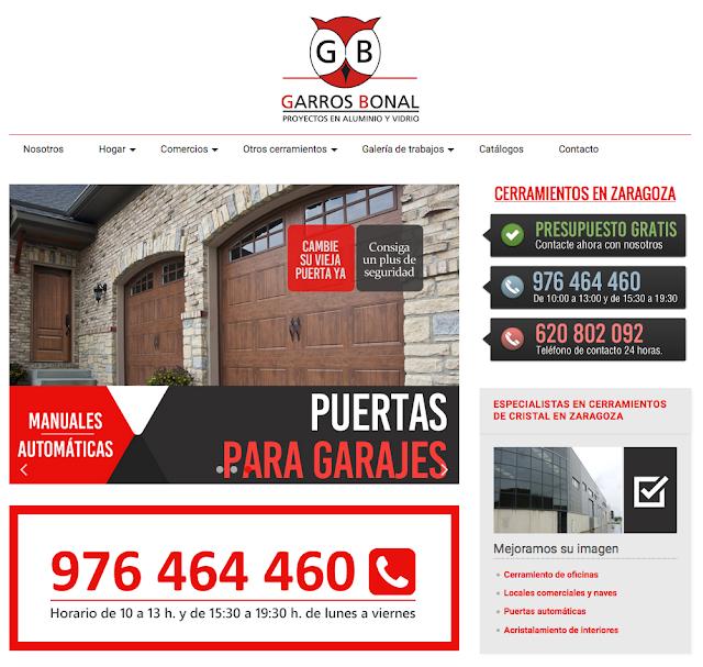 Cerramientos de cristal y ventanas de aluminio y pvc en Zaragoza
