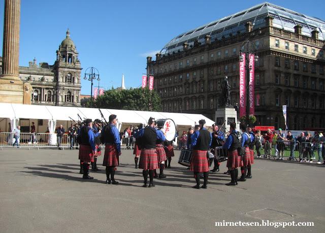 Глазго - фестиваль волынки