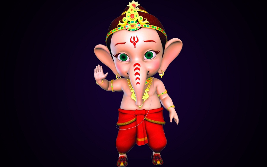 Bal Ganesh Animated Photo