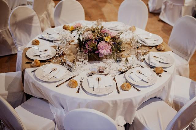 fleuriste mariage Lyon, centre de table mariage champêtre