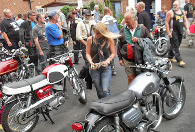 Barton Bike Night pictured on Nigel Fisher's Brigg Blog - the 2018 event will be held on July 14