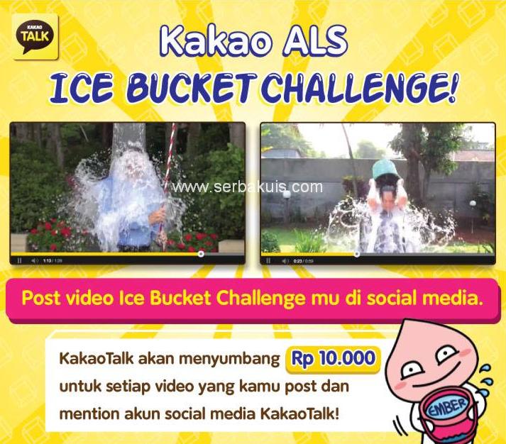 BerDonasi Gratis Dengan Ikut Kakao-ALS Ice Bucket Challenge
