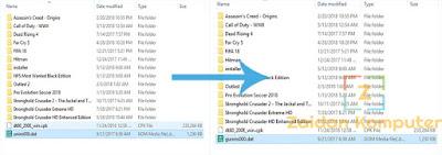 Cara Mengatasi Tidak Bisa Uninstall Game Karena File gunins000.dat Tidak Ada
