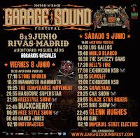 Horarios Garage Sound Fest 2018