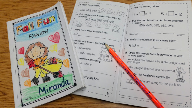 Math review for 2nd grade