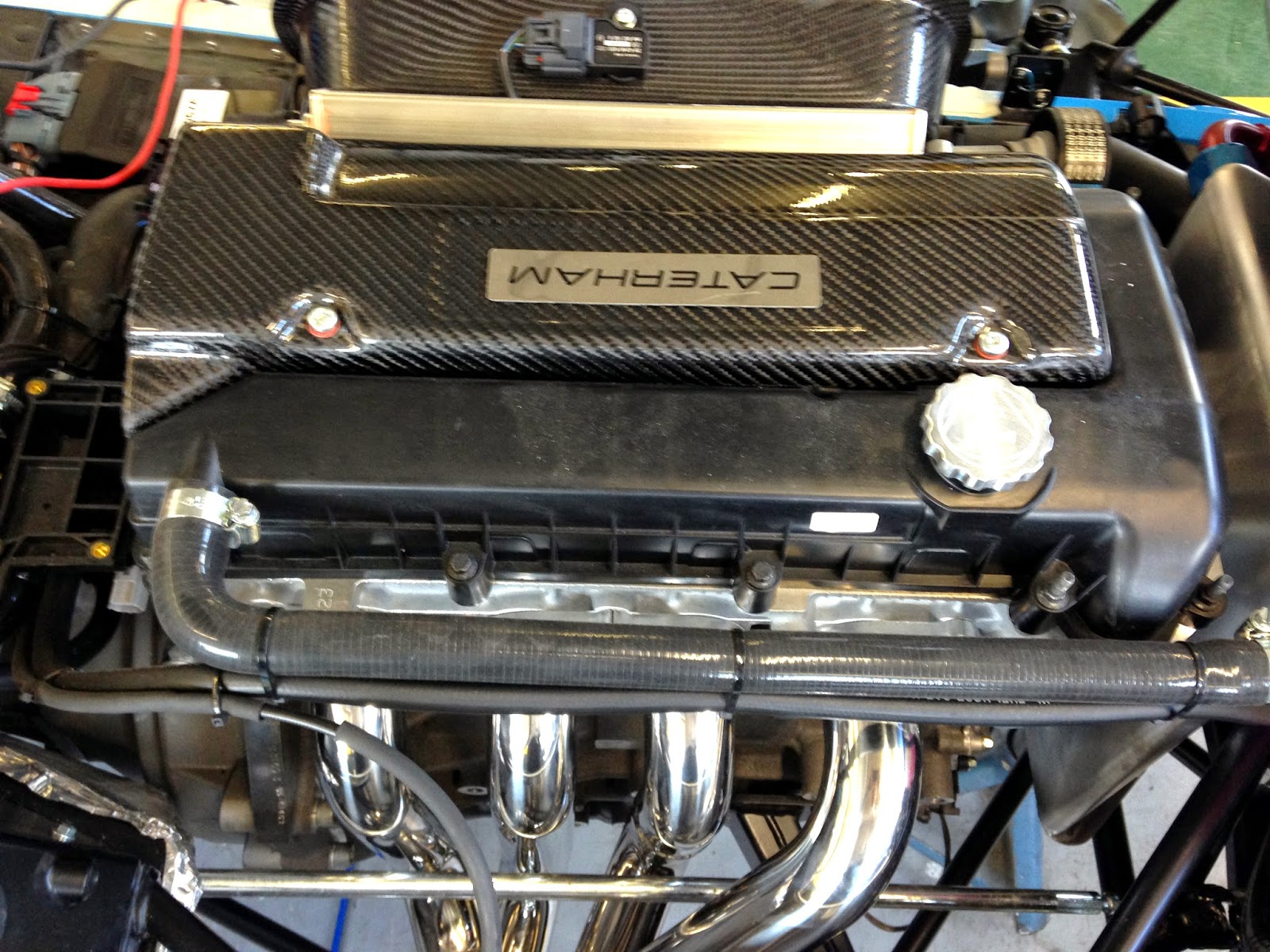 Duratec Carbon Engine Cover