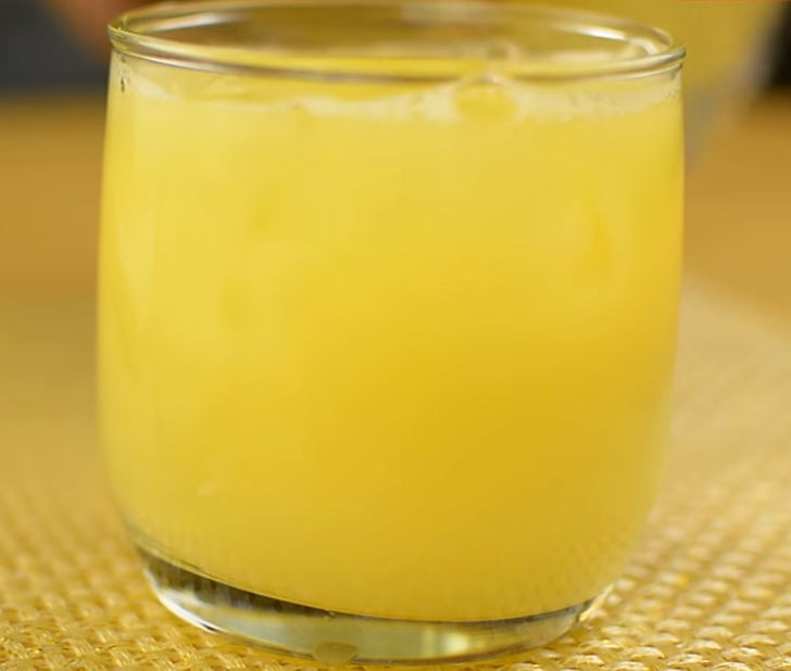 Homemade Lemon Ginger Pineapple Juice Recipe