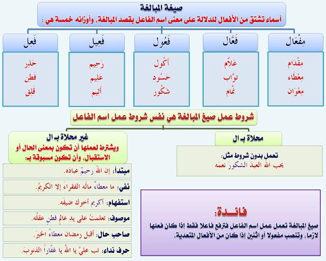 """انفراد.... كل قواعد اللغة العربية لطلاب """"ابتدائي - اعدادي - ثانوي"""" في صورة لوحات مبسطة مع الشرح والتدريبات 57"""