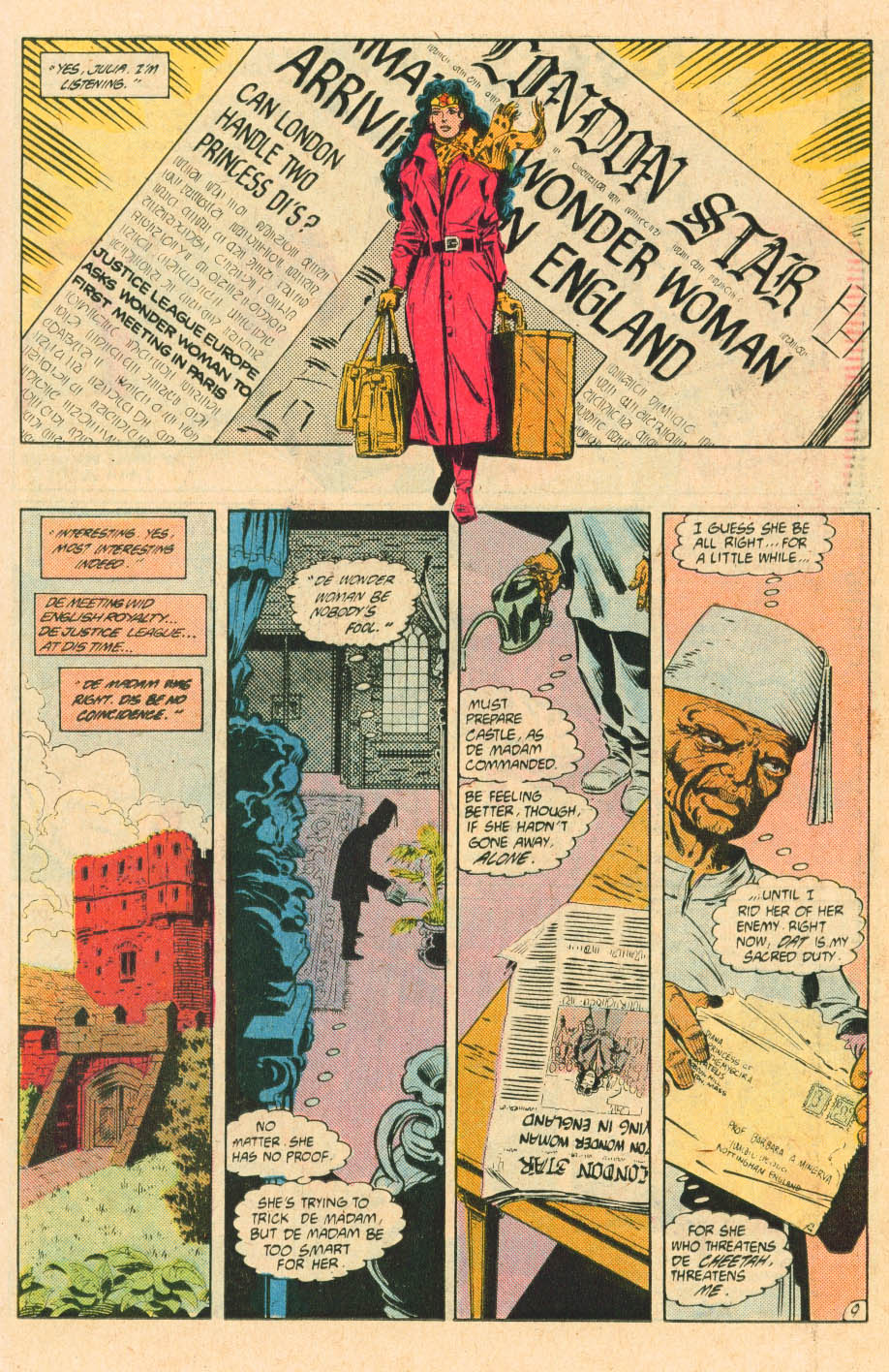 Read online Wonder Woman (1987) comic -  Issue #28 - 11