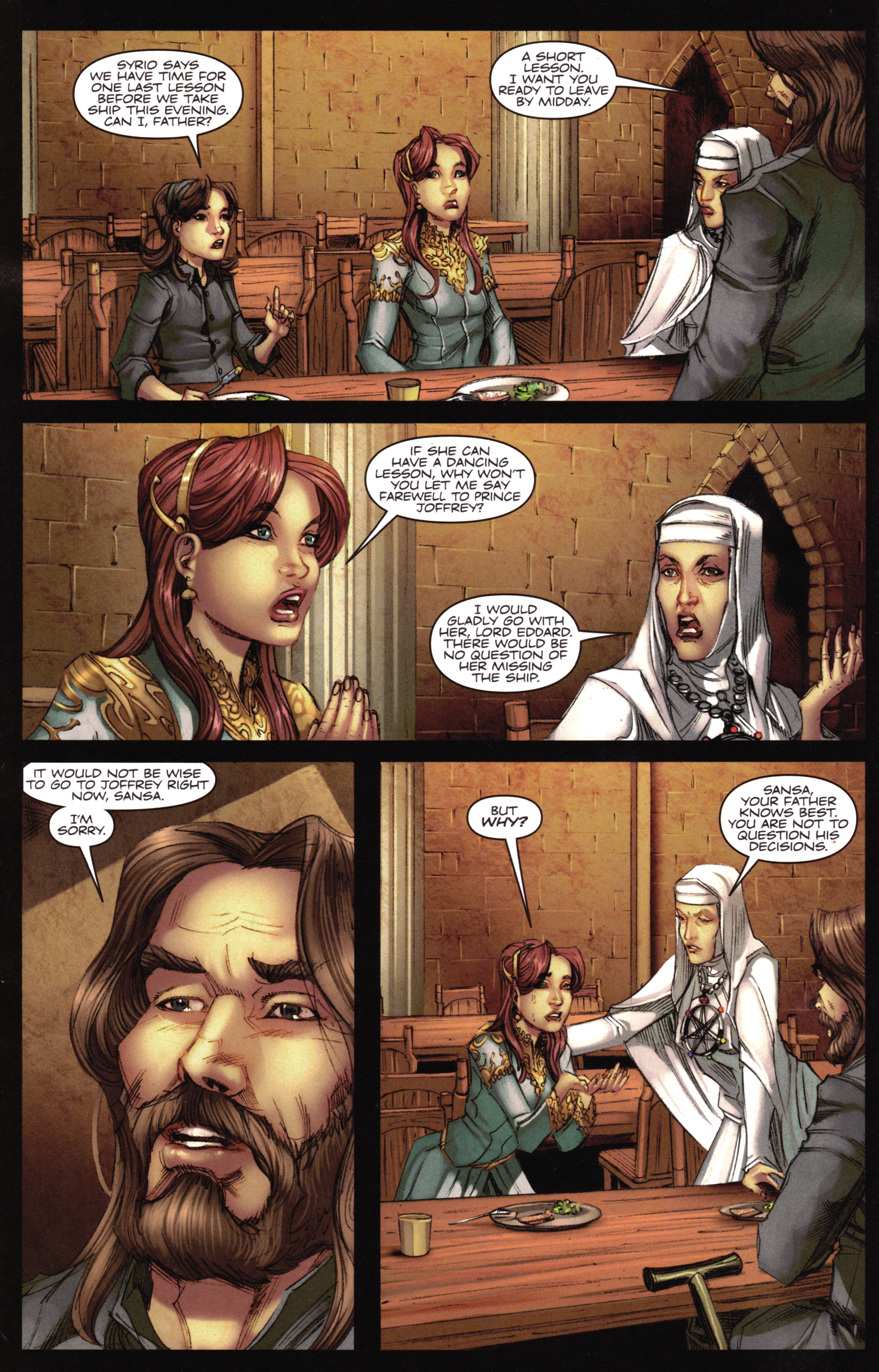 Read online A Game Of Thrones comic -  Issue #16 - 4