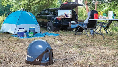 Awesome Tailgating Gadgets - DISH VQ4510 Tailgater