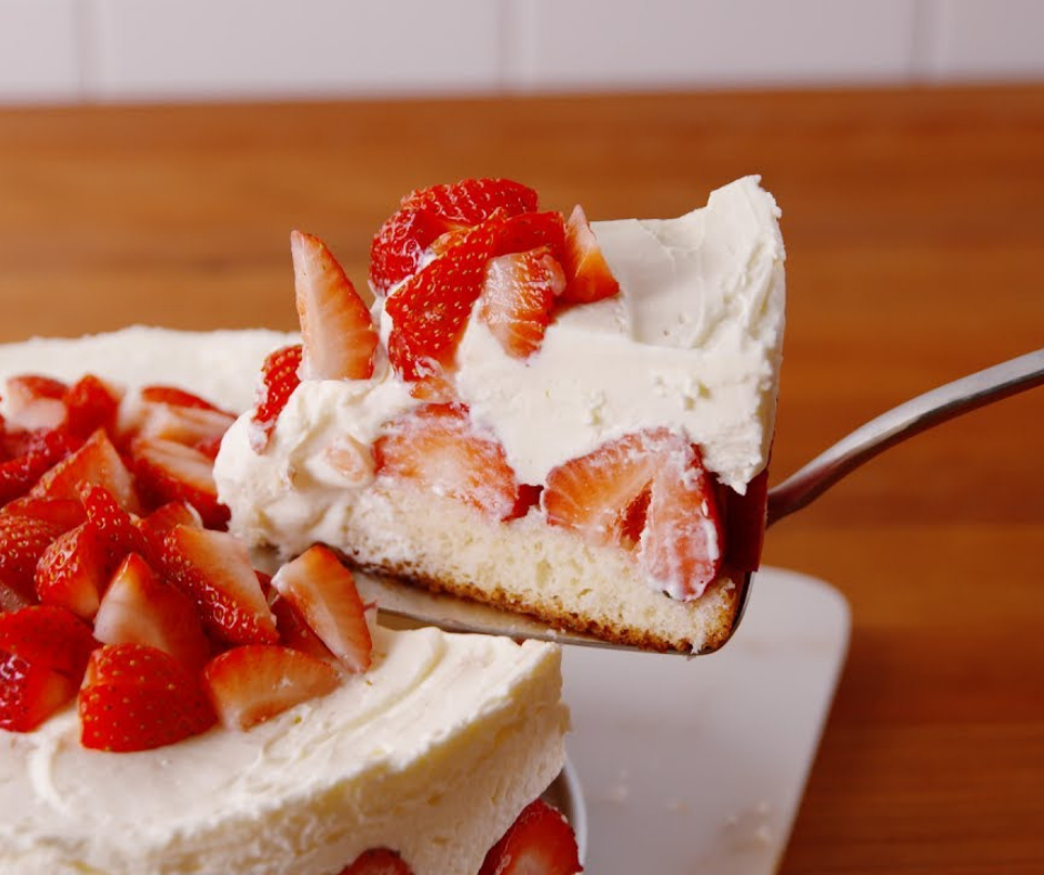 Strawberry Shortcake Cheesecake - food-drink-recipes.com