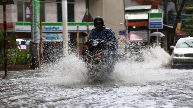 Ngập nước ở Hồ Chí Minh