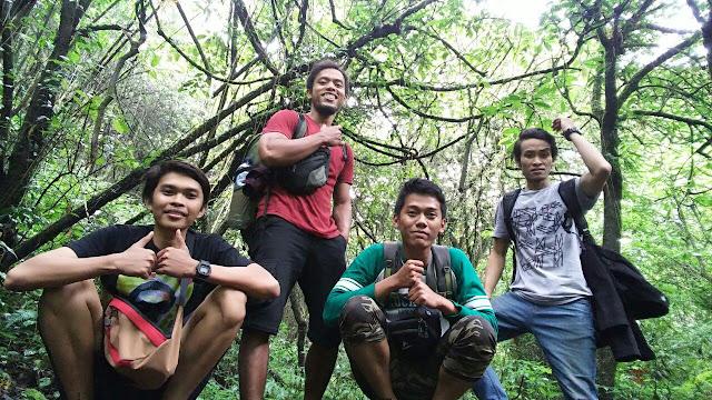 foto di jalur Gunung Pundak