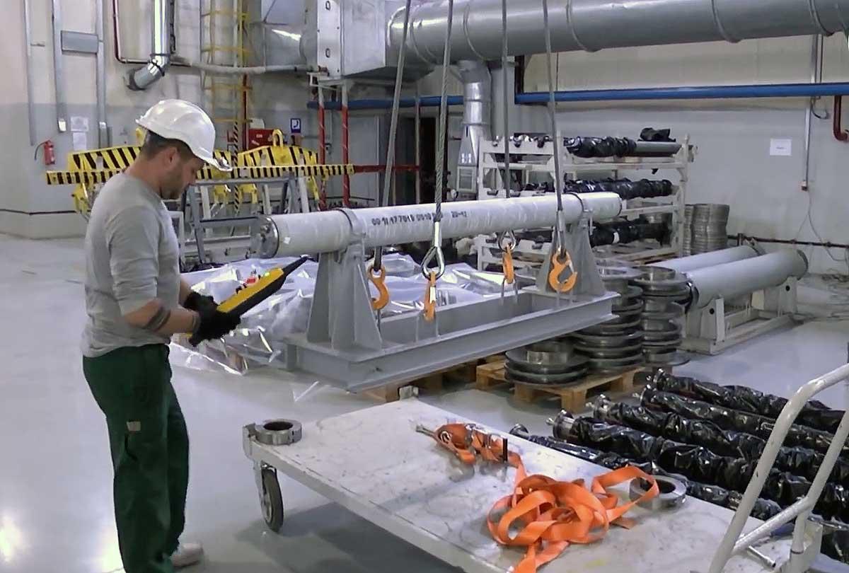 Павлоградський хімічний завод освоїв виробництво реактивних снарядів Тайфун-1
