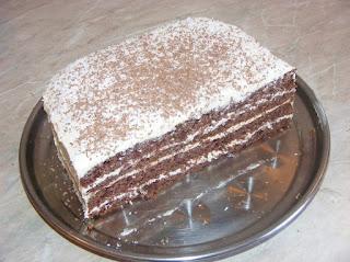Prajitura de casa cu ciocolata si vanilie reteta,