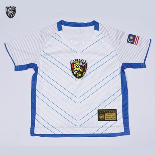 harga jersi kanak-kanak harimau malaysia, beli jersey harimau Malaysia buat anak, gambar jersi harimau malaysia warna putih, harga t-shirt kanak-kanak harimau malaysia, cara beli jersi harimau malaysia