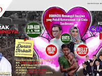Yuuk Hadiri Konser Kemanusiaan dan Cinta Rohingya