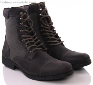 Vogue Eyelet UNZE Boots for MEN 2016 www.fashionwearstyle.com