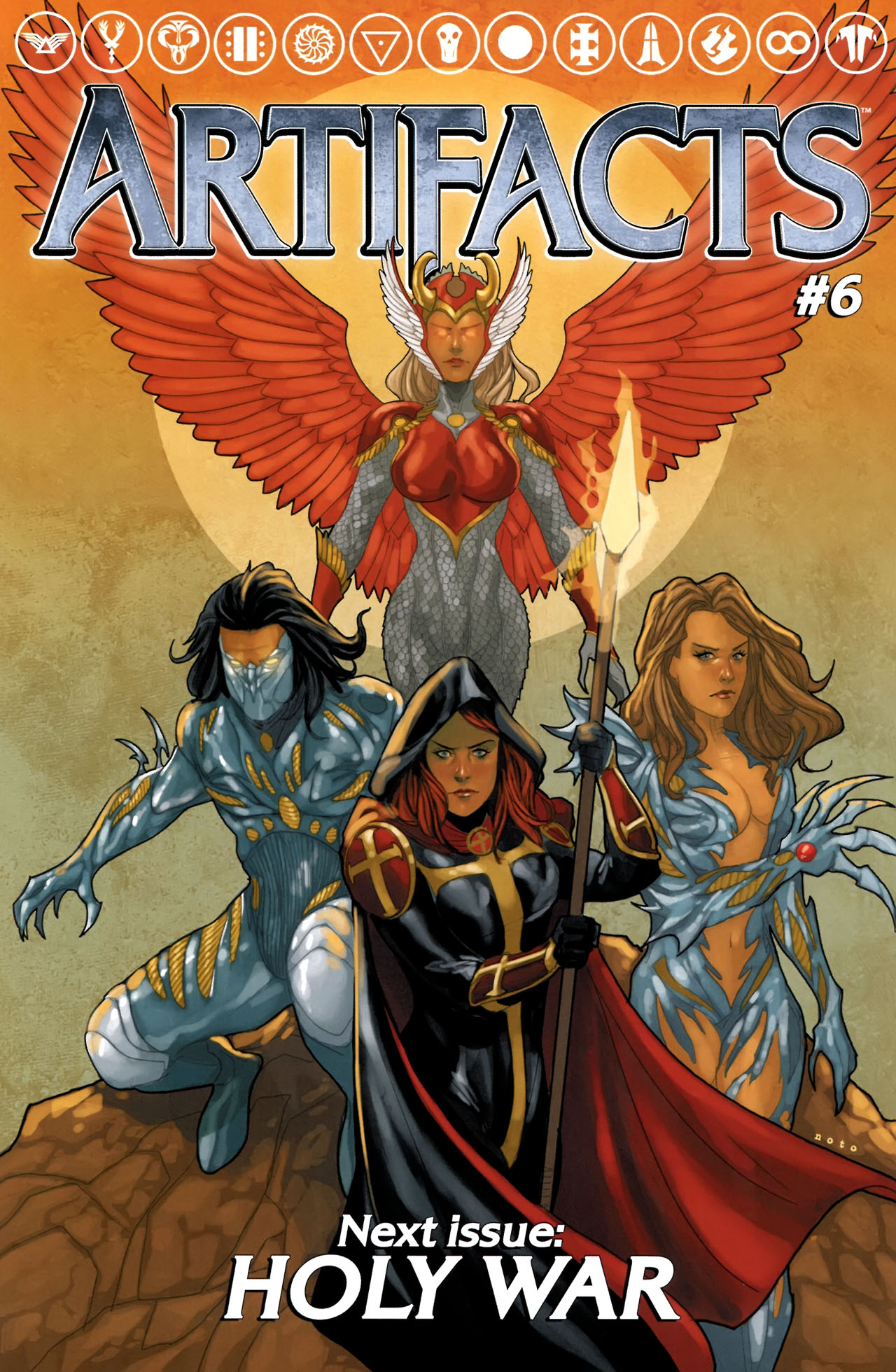Read online Artifacts comic -  Issue #5 - 28