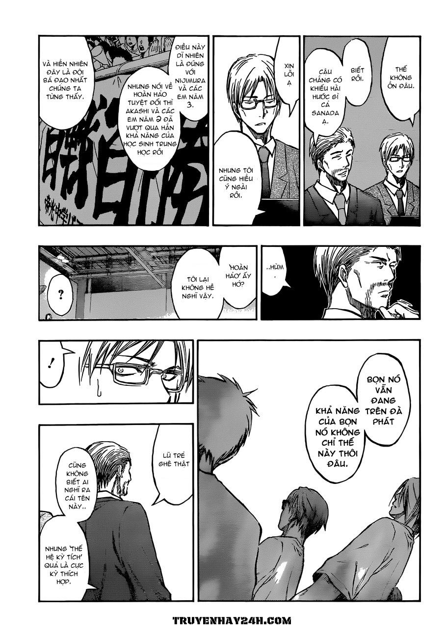 Kuroko No Basket chap 213 trang 11