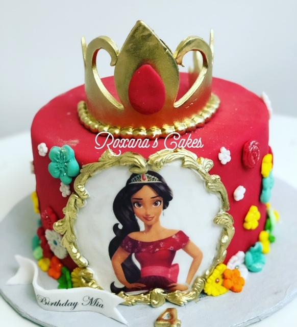 Awe Inspiring Baking With Roxanas Cakes Elena Of Avalor Birthday Cake Funny Birthday Cards Online Hendilapandamsfinfo