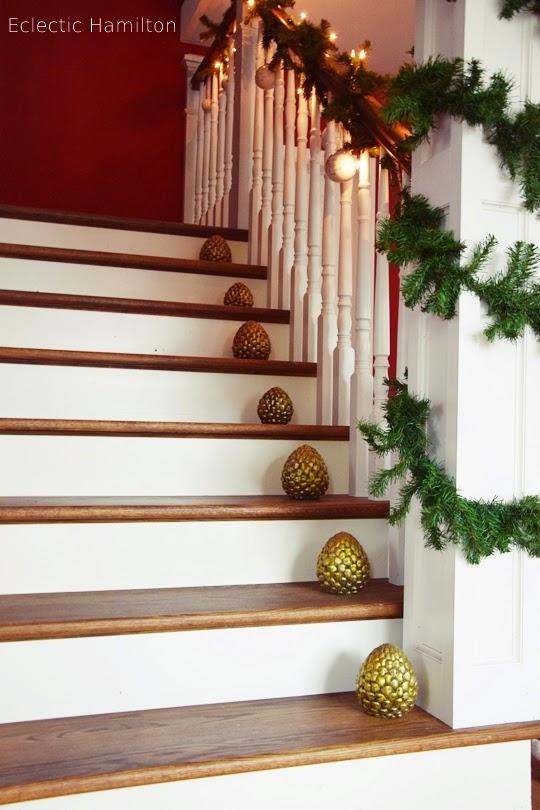 weihnachten im hamilton das treppenhaus eclectic
