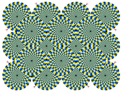 Cool Spinning Optical illusions