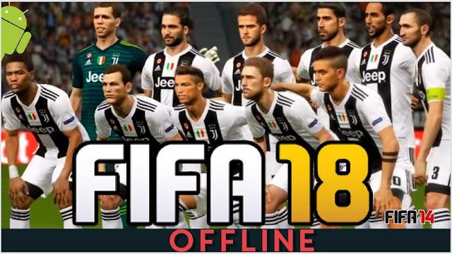 فيفا 2018 اللعبة الرائعة بآخر تحديثاث فريق يوفنتوس Ronaldo in Juventus