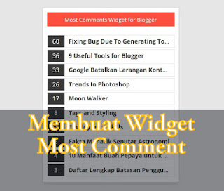 Cara Membuat Widget Most Article Comments