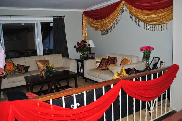 Indian wedding decorations for home interiors blog for Indian wedding decoration ideas home
