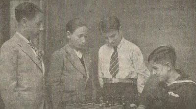 I Campeonato Infantil de Barcelona 1932, equipo del Club d'Escacs Ibèria
