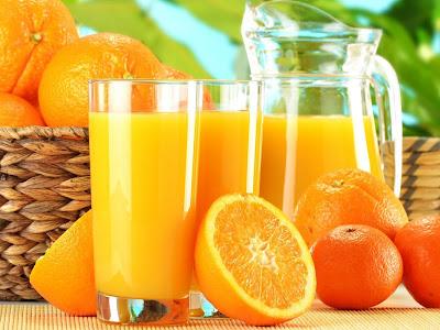 Cinco beneficios del jugo de naranja