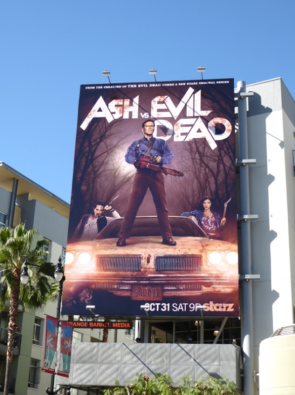 Ash vs Evil Dead season 1 billboard