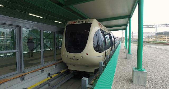 Metrô em Pisa