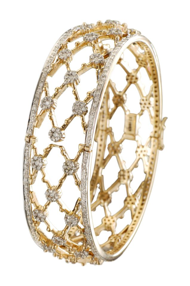 Indian Jewellery And Clothing Gold And Diamond Bangles