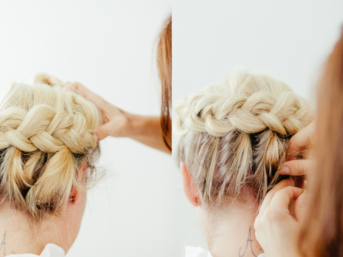 Ozopft Is Flechtfrisuren Tutorial Zopf Krone Fashion Kitchen