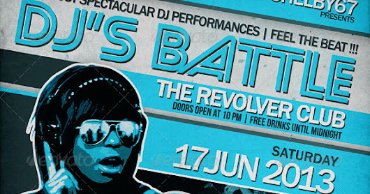 DJ Battle Flyer / Poster         |          HD Flyer Templates