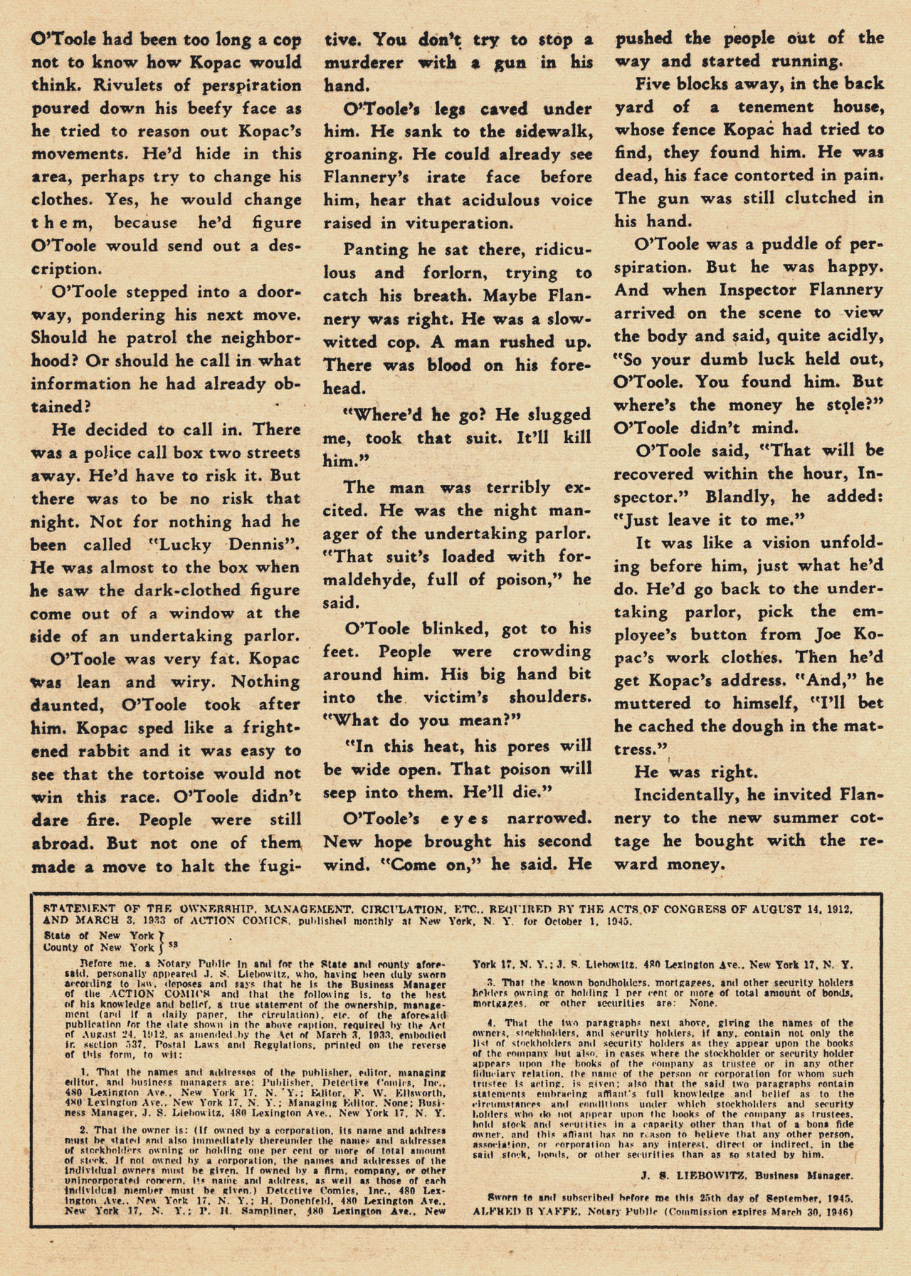 Read online Action Comics (1938) comic -  Issue #94 - 34