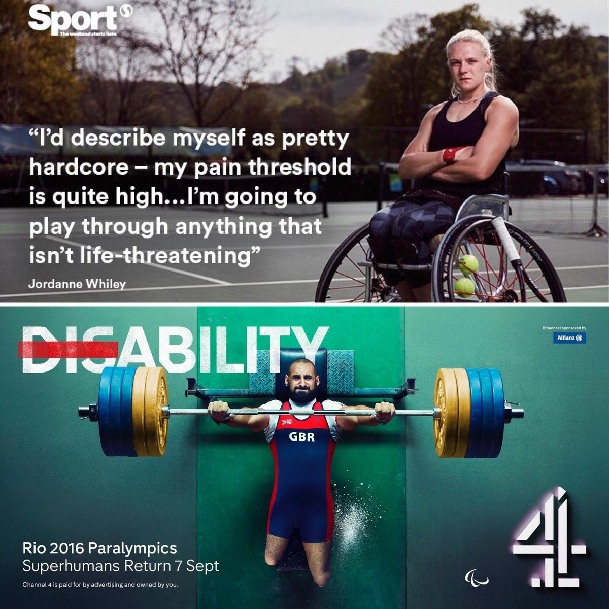 Paralympic Perambulations: From